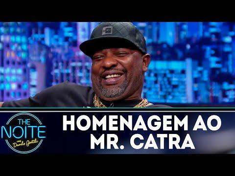 Melhores momentos do Mr. Catra no programa | The Noite (10/09/18)