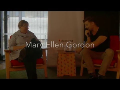 Auckland hosts Mary Ellen Gordon
