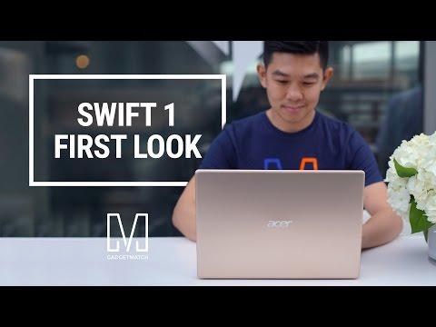 acer-swift-1-first-look:-premium-laptop-under-$350!
