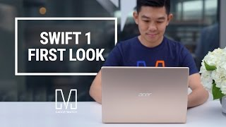 Acer Swift 1 First Look: Premium laptop under $350!