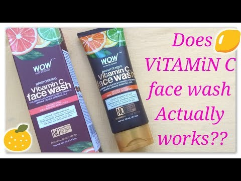 new-wow-vitamin-c-face-wash-review//best-wow-face-wash