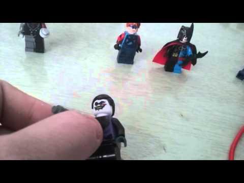 Custom flim two face Batman beyond joker Ca captain America and updated Composite superman