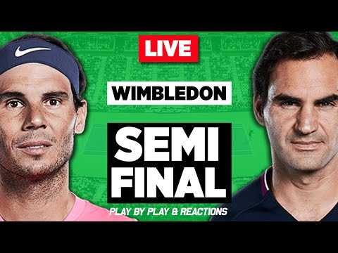🔴 NADAL vs FEDERER | Wimbledon 2019 | LIVE Play-by-Play & Reaction