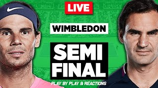 Rafael NADAL vs Roger FEDERER | Wimbledon 2019 | LIVE Stream Play-by-Play