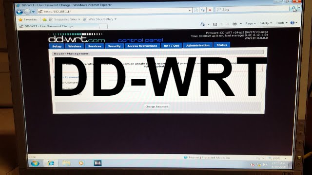 DD-WRT INITIAL SETUP AND FEATURE OVERVIEW! (NETGEAR WNDR3400V2)