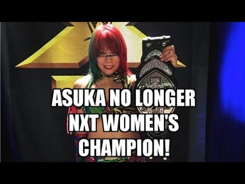 Breaking news: Asuka gives up the WWE NXT Women's Title | NoDQ News