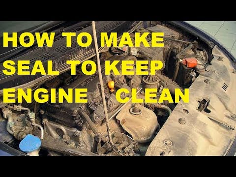 HOW TO KEEP CLEAN ENGINE BAY