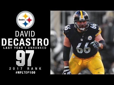 #97: David DeCastro (G, Steelers) | Top 100 Players of 2017 | NFL