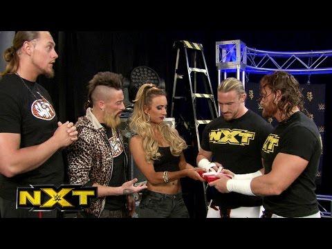 Blake & Murphy give Carmella a present: WWE NXT, March 25, 2015