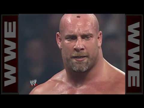 Chuck Norris , Jean Claude Van Damme &  Goldberg.  WWE