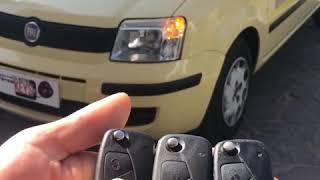 Duplicazione di una chiave per la Fiat Panda