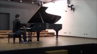 Prelude and Fugue No. 6  in D minor, BWV 851,  Bach - Daniel Toledo