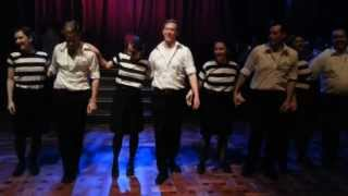 Twenty Four Robbers performance - Empire Swing at Brisbane Gangster