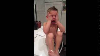 Funny Kid Crying!