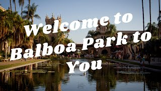 Welcome to Balboa Park to You!