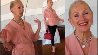 Как правильно носить сумки Походка Осанка Упражнения для овала лица Женщины элегантного возраста