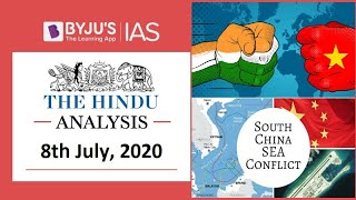 'The Hindu' Analysis for 8th July, 2020. (Current Affairs for UPSC/IAS)
