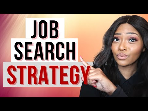 Job Hunting Strategy for South Africans