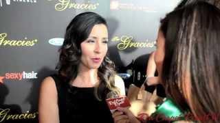Nikki Boyer at the 2013 Gracie Awards #thegracies @NikkiBoyer