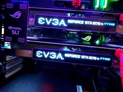 GAMING PC | EVGA GTX 1070 TI FTW 2-WAY SLI | I7 8700K