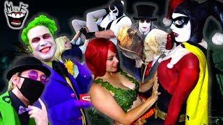 Batman Villains Meet-Up! Ft. Harley Quinn Joker Poison Ivy Funny Parody