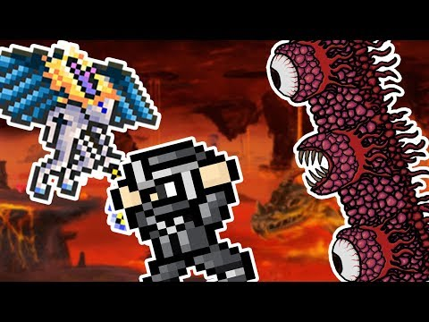 BEATING THE WALL OF FLESH!?!?! | Terraria Ep 5