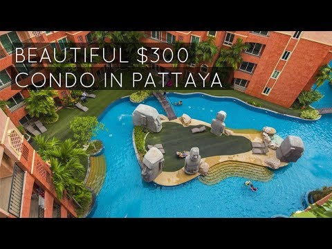My Cheap $300 Condo In Pattaya Thailand | Seven Seas Condo