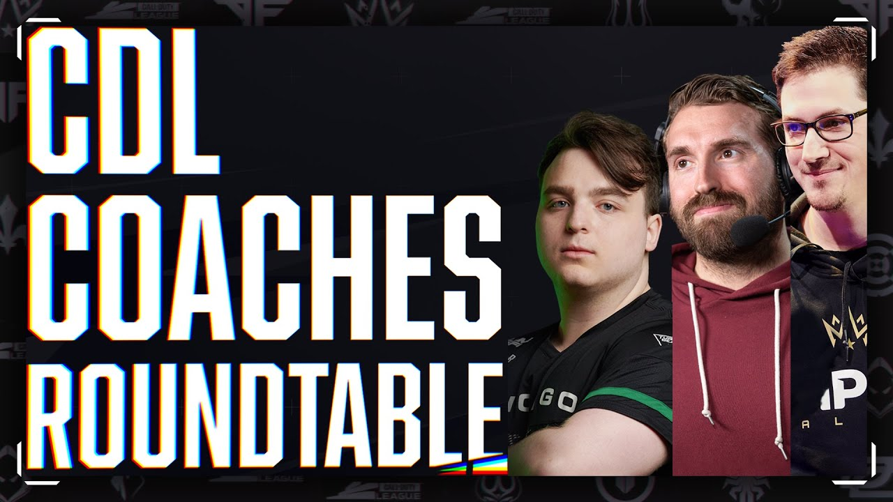 How to Coach a COD Team?! | CDL Coaches Round-Table Ft. Mr. X, Rambo, & Sender