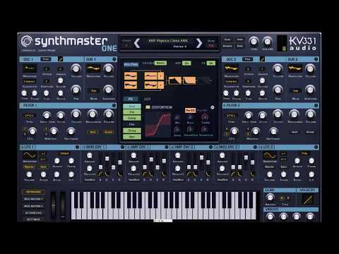 SYNTHMASTER ONE by KV331 Audio 🎹 Just A Great Sounding Synth