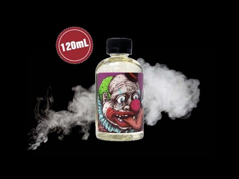 CLOWN- SWEET TOOTH E LIQUID REVIEW