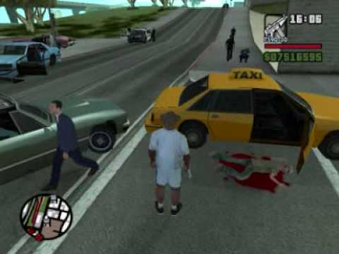 GTA San Andreas cops : Bloopers & funny moments #1