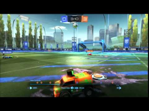 Rocket League Witness the Fitness