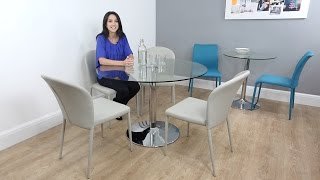 Modern Round Glass Dining Tables Uk