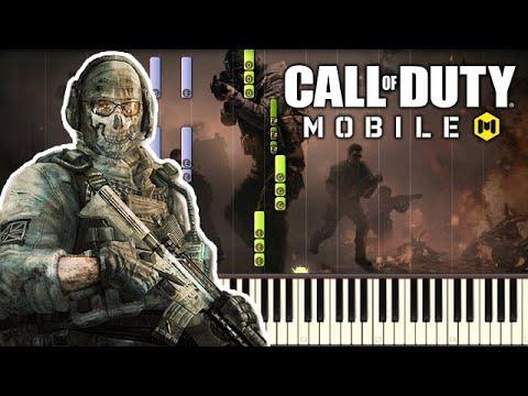 🎵 Main Menu Theme - Call Of Duty Mobile (COD Mobile) [Piano Tutorial]