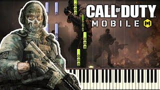 Main Menu Theme - Call of Duty Mobile (COD Mobile) [Piano Tutorial]