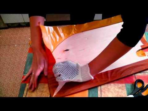 Как клеить пробку на стену и на потолок | Ремонт комнаты #2 - YouTube