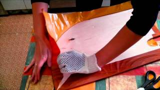 Самоклеющаяся пленка на фанере(В этом видео я покажу, как Я клею пленку на нужную поверхность. Это не значит, что именно так ее правильно..., 2015-08-24T10:40:38.000Z)