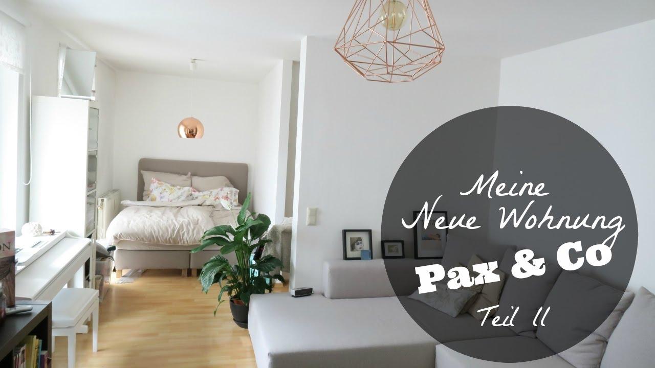 Meine neue WOHNUNG [ IKEA Pax Schrank Aufbau ] - YouTube