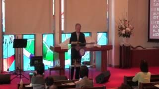 2017年4月2日 神戸キリスト栄光教会 聖日礼拝 菅原亘牧師 「生きることはキリスト死ぬこともまた益なり」