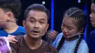 Quách Phú Thành Cha Con Người Hát Rong - Thử Tài Siêu Nhí Tập 14 Chung Kết - Hoài Linh rơi nước mắt