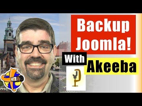How to Backup a Joomla Site with Akeeba Backup - A How to Backup Up a Joomla Website Tutorial
