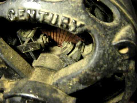 Century motor with explanation antique rsir electric for Antique electric motor repair