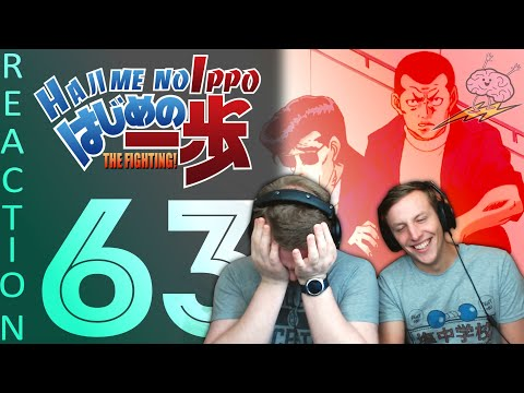 SOS Bros React - Hajime No Ippo Season 1 Episode 63 - Sudden Aoki And Kimura Backstory!?