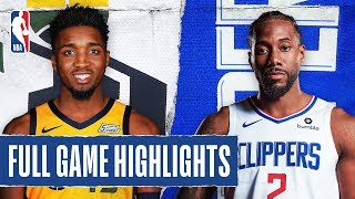 JAZZ at CLIPPERS | FULL GAME HIGHLIGHTS |  December 28, 2019