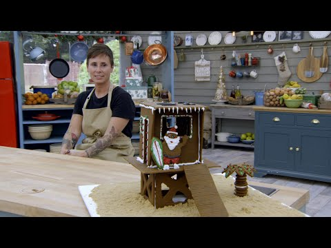 The Bakers Race To Complete Their Gingerbread Creations - The Great American Baking Show: Holiday Ed