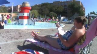 Majorca 2016 poolside day 1