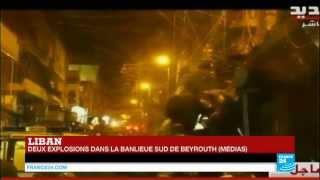 LIBAN - 2 explosions dans la banlieue sud de Beyrouth – Plusieurs morts dans ce fief du Hezbollah