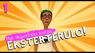 Mia Vicpatrino Estas Eksterterulo! – 01 (Esperanto 🔸 Rachel's Conlang Channel)