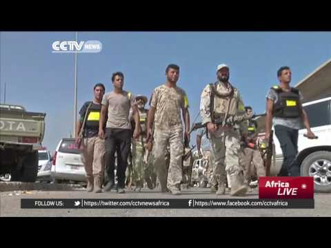 Libyan forces resume their ground offensive against ISIL militants
