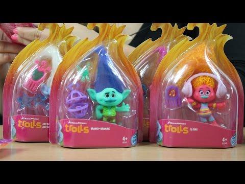 Trolle / Trolls - Pierwsze zabawki z filmu / First Toys from Movie - Hasbro
